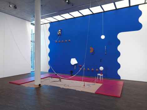 Anthea Hamilton, Gymnasium, 2008, 2010 © me Collectors Room Berlin, Photo Bernd Borchardt