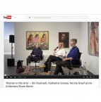 Video-record of the talk with Siri Hustvedt, Katharina Grosse and Nicola Graef