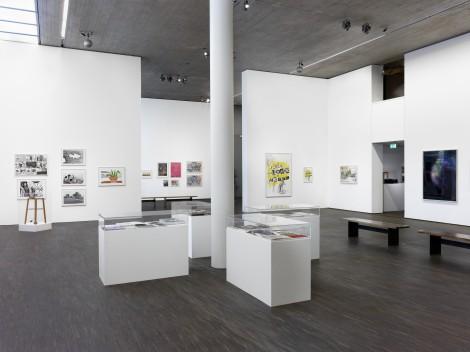 Sigmar Polke - Die Editionen (aus der Sammlung Kunstraum am Limes), Installationsansicht, 2017 © me Collectors Room Berlin, Photo Bernd Borchardt