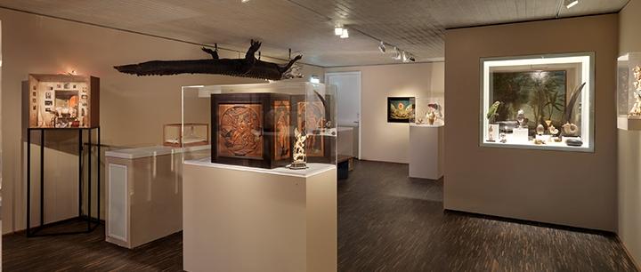 Blick in die Wunderkammer Olbricht © me Collectors Room Berlin, Foto Bernd Borchardt