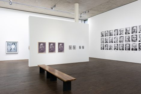 Gerhard Richter - Portraits aus der Olbricht Collection, Installationsansicht, 2019 © me Collectors Room Berlin, Photo Eric Bell