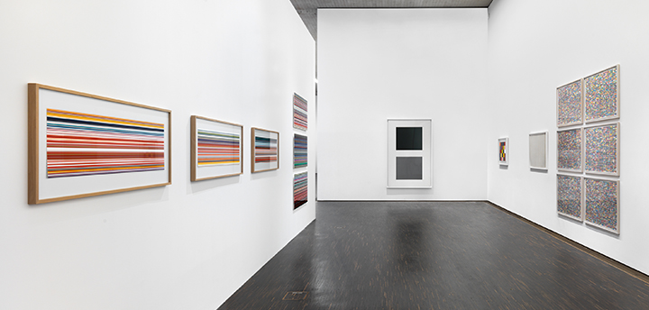 Moving Energies – 10 years me Collectors Room Berlin, Installationsansicht, installation view, (Gerhard Richter), 2020, Photo Bernd Borchardt